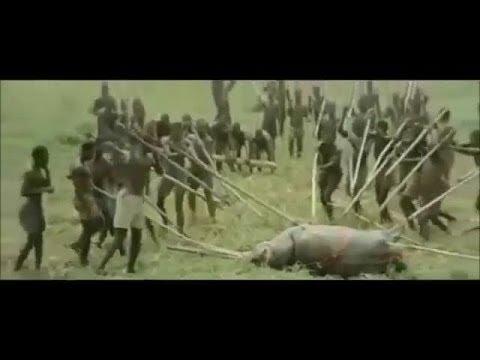 アフリカ原住民の強烈な狩りwidth=190